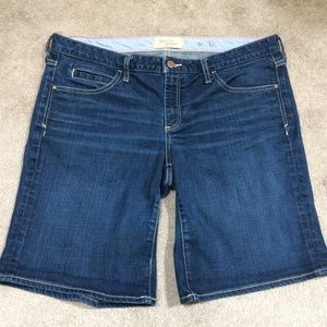 Holding Horses Denim Bermuda Boy Shorts